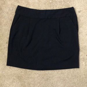 Black, Mini Pencil Skirt